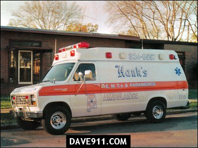 Hank's Ambulance