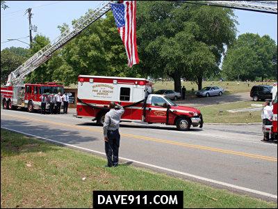 LT Steve Turner Funeral - Birmingham Fire & Rescue Service