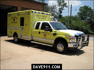 North Shelby Fire District : Rescue 73