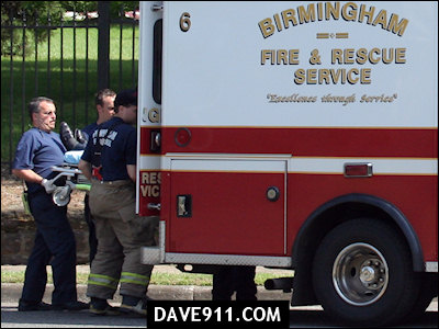 Birmingham Fire & Rescue : Engine 21 - Rescue 6