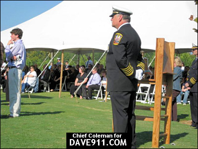 Alabama State Fire College 2007 Firefighter Memorial Service