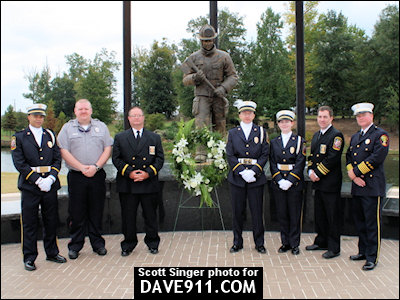 Fifth Annual Firefighter Memorial Ceremony