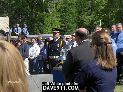 Assistant Chief Jim Looney Funeral - Childersburg Fire & Rescue