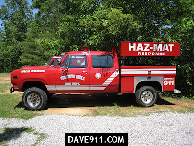 Vestavia Hills Fire Department - Haz-Mat