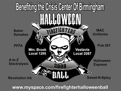 Firefighters Halloween Ball 2008