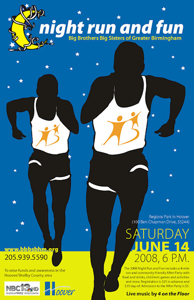 Download the 2008 Night Run and Fun Poster & Registration