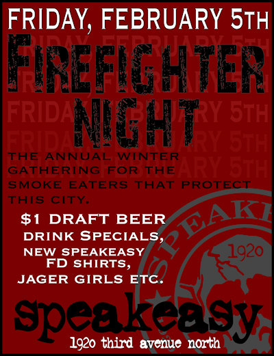 Firefighter Night 2010 - Speakeasy