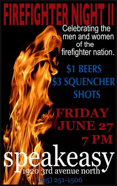 Speakeasy - Firefighter Night II