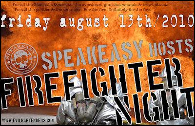 2010 Firefighter Night - Speakeasy