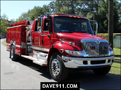 Montevallo Fire Prevention Week Parade