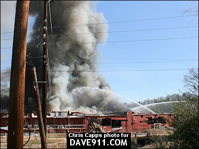 Avondale Mills Fire - Pell City Fire Department