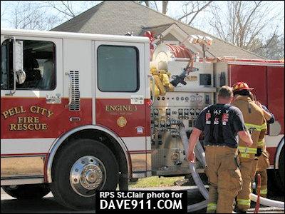 Avondale Mills Fire - Pell City Fire & Rescue