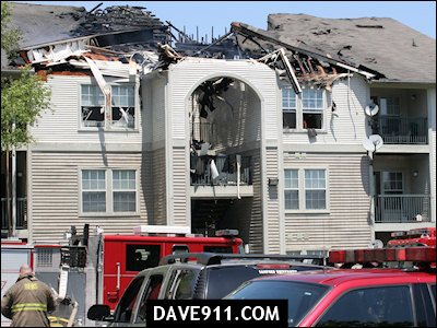 Cameron at the Summit Apartments Fire - Part 3