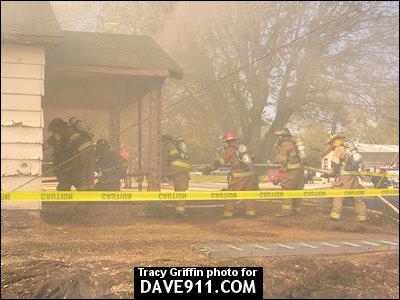 Alabama Fire College - Live Burn