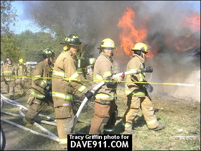 Alabama Fire College - Live Burn