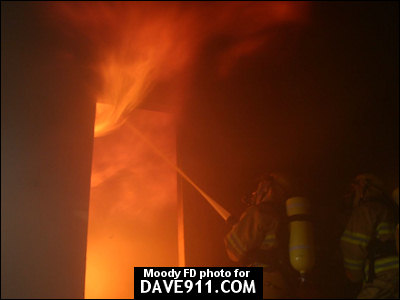 Moody / Odenville Fire Departments Joint Training Exercise