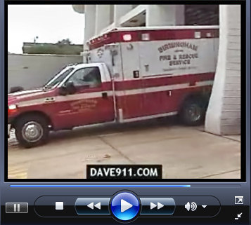 Rescue 1 Dispatch & Responding Video